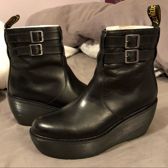 e9ca808f644 Dr. Martens Shoes - Dr. Marten s Caitlin Two-Strap Ankle Boot